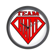 3-Team Haiti Wall Clock