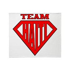 3-Team Haiti Throw Blanket