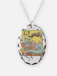 Dragon Reader (ex Libris) Necklace