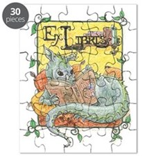 Dragon Reader (ex Libris) Puzzle