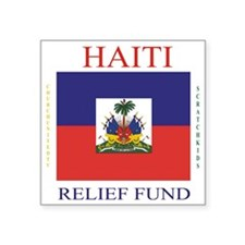 "HAITI_2 Square Sticker 3"" x 3"""