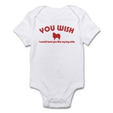 Toy American Eskimo Infant Bodysuit