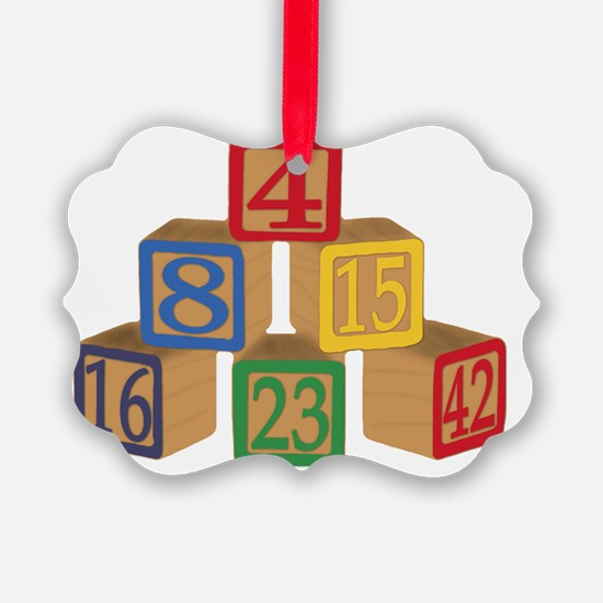 numbers Ornament