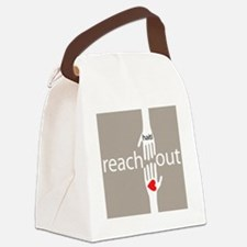 tshirt_Haiti1Beige.eps Canvas Lunch Bag