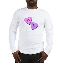 I Heart Pi Long Sleeve T-Shirt