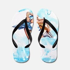 Blue Dream Flip Flops