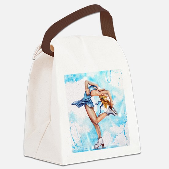 Blue Dream Canvas Lunch Bag