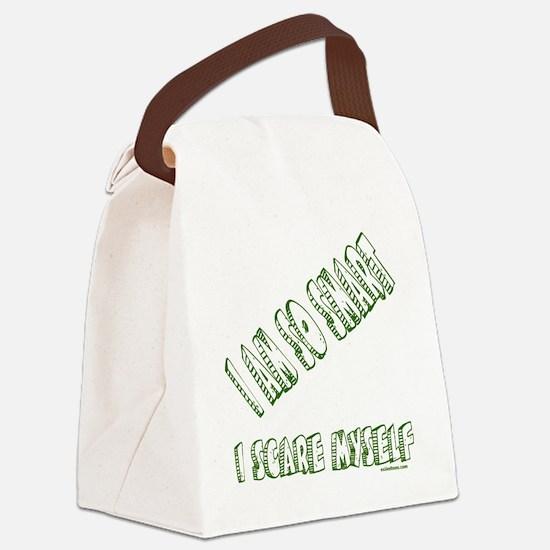 IAmSoSmartIScareMyself Canvas Lunch Bag