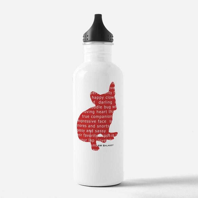 balagot_redsilh_sit Water Bottle