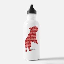 balagot_redsilh_beg Water Bottle