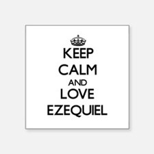 Keep Calm and Love Ezequiel Sticker