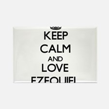 Keep Calm and Love Ezequiel Magnets