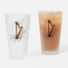 harp white Drinking Glass