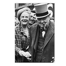 ART Churchills 2 Postcards (Package of 8)