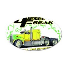 Green Yellow Diesel Freak -  Wall Decal