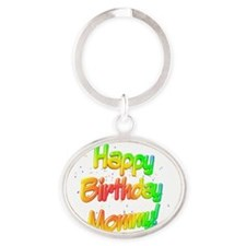 HB_Mommy Oval Keychain