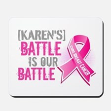 Personalized Breast Cancer Mousepad