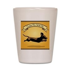 8x9_trvlbnd_flying_dog Shot Glass