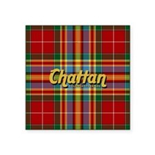 "chattan5x5@300 Square Sticker 3"" x 3"""
