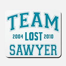 team-lost-sawyer Mousepad