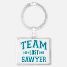 team-lost-sawyer Landscape Keychain
