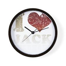 ILOVEJACKSHEPHARDDTY Wall Clock