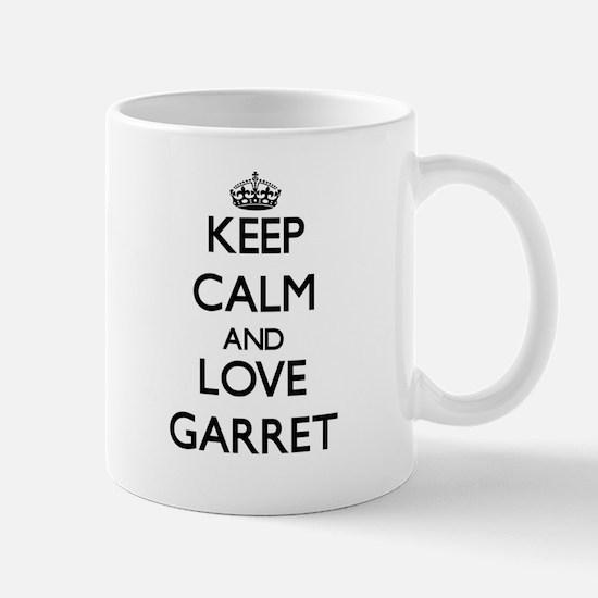 Keep Calm and Love Garret Mugs