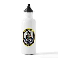 simpson patch transpar Water Bottle