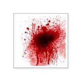 Blood splatter Square