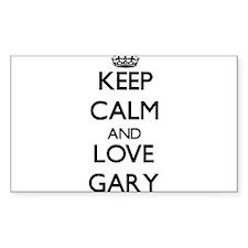 Keep Calm and Love Gary Decal