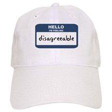 Feeling disagreeable Baseball Baseball Cap