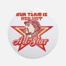 Mao All-Star Shirt 1 Round Ornament
