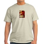 Wine & cheese Ash Grey T-Shirt