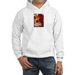 Wine & cheese Hooded Sweatshirt