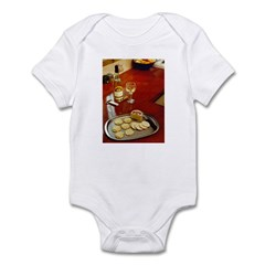Wine & cheese Infant Bodysuit
