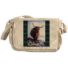 highland_coo Messenger Bag