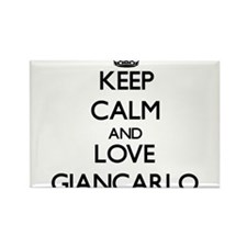 Keep Calm and Love Giancarlo Magnets