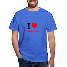 T-Shirt I Love Birmingham