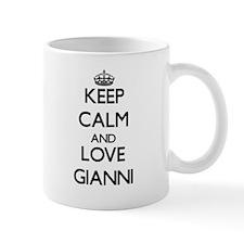Keep Calm and Love Gianni Mugs