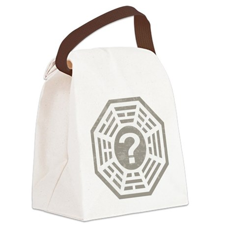 Dharma Station Gray Canvas Lunch Bag