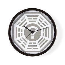 Dharma Station Gray Wall Clock