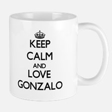 Keep Calm and Love Gonzalo Mugs
