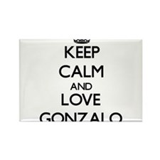 Keep Calm and Love Gonzalo Magnets