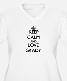 Keep Calm and Love Grady Plus Size T-Shirt
