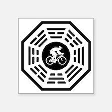 "Cycling_men_notext Square Sticker 3"" x 3"""