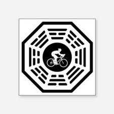 "Cycling_women_notext Square Sticker 3"" x 3"""