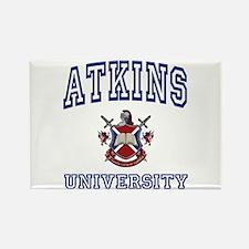 ATKINS University Rectangle Magnet