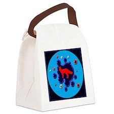 foxy splash pilla Canvas Lunch Bag