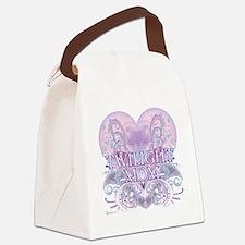 Twilight Mom Fancy Heart Canvas Lunch Bag