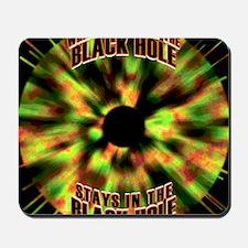 Black Hole Mousepad